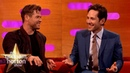 Paul Rudd Jumped Out Of A Moving Car To Impress His Date! The Graham Norton Show
