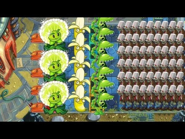 Plants vs Zombies 2 - Snap Pea, Dandelion and Banana Launcher