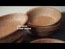 BIOTREM Wheat Bran Tableware - Intro