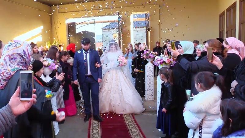 Новинка Чеченская Свадьба Расула и Райяны г Аргун 15 12 2018 Студия Шархан