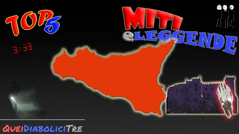 TOP 5 MITI E LEGGENDE IN ITALIA EP 2 SICILIA
