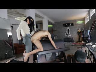 Mistress gaia ass fuck rodeo femdom