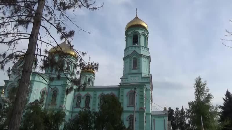 Курганинск прогулка по городу весна 2019