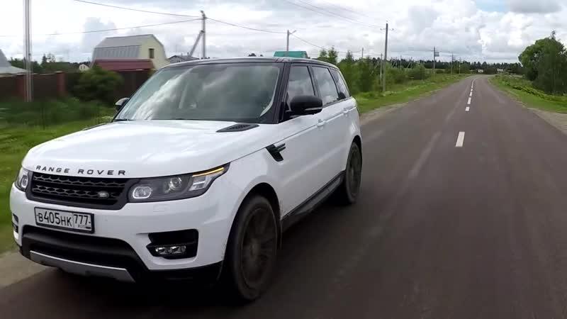Range Rover Sport - Тест-драйв спортивного внедорожника!