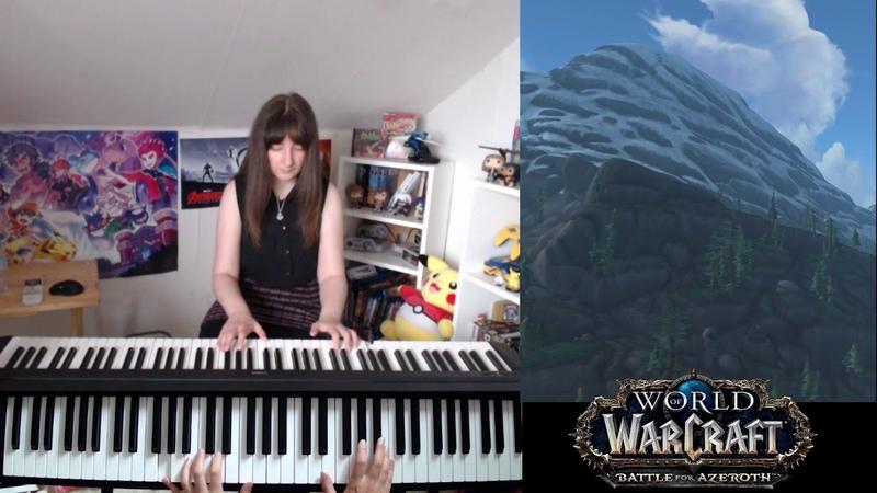 World of Warcraft - BoralusTiragarde Sound music on piano