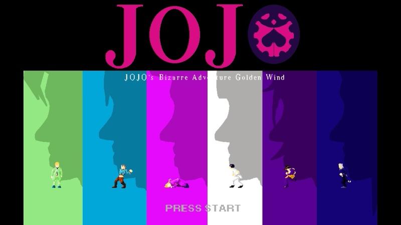 Jojo Golden Wind Opening 1 : Fighting Gold (Full) 8-bit NES VRC6 16 bit SNES Remix
