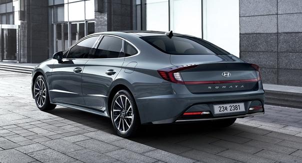 Hyundai Sonata нового поколения: версии для Кореи