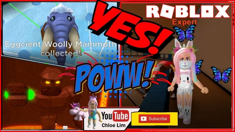 🥚 Epic Minigames! Getting Eggcient Woolly Mammoth Egg from the Egg Hunt Event! LOUD WARNING!