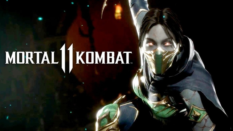 Mortal Kombat 11 Official Jade Character Reveal Trailer
