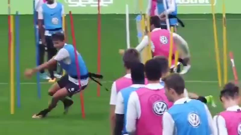 Футбольные упражнения на скорость и быстроту реакции