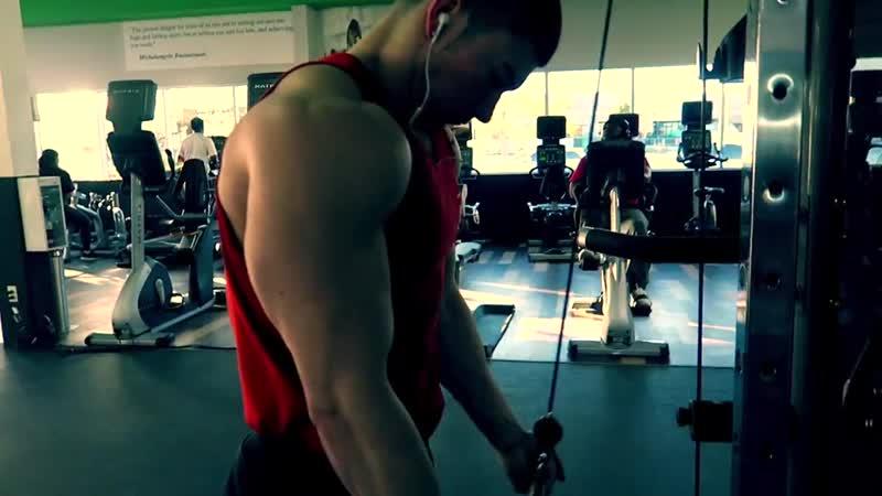 [Тренировка] Luke Elsman \\ CRAZIEST CHEST PUMP