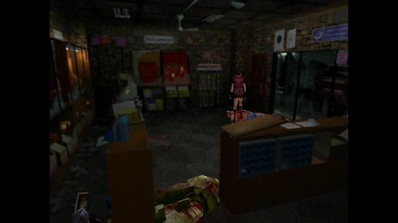 Resident evil 2 (PS 1) RUS часть 1