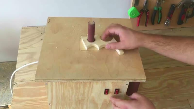 Building the Oscillating Spindle Sander Salınımlı Rulo Zımpara Makinası mp4