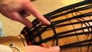 Djembe Tuning Rope Tuning Second Ring Diamond Knot