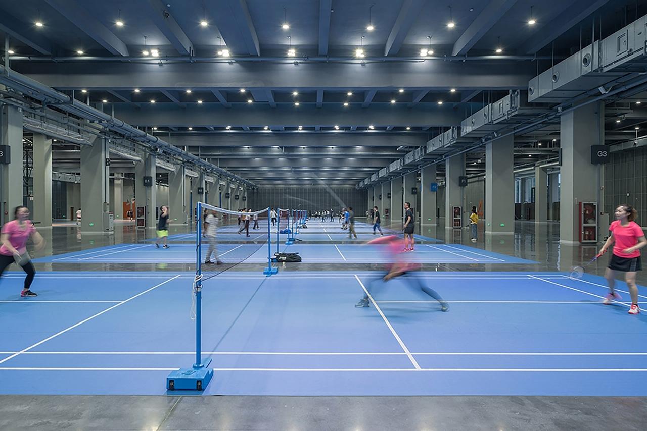 Масштабный проект с парком на крыше реализован в Ганчжоу