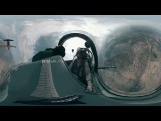 Авиашоу в верхней пышме 9 мая, снятое на камеру на 360 градусов