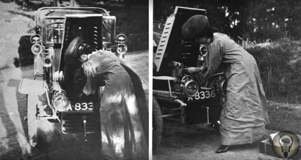 ВОЗЬМИТЕ В ДОРОГУ ПИСТОЛЕТ» Что советовали женщинам-водителям сто лет назад Двадцатый век был главным полем битвы за равенство полов, и вождение женщинами автомобилей стало одним из ярких