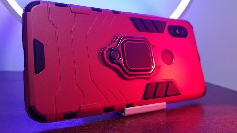Защищенный чехол FLOVEME Iron Man для Xiaomi Redmi Note 6 PRO