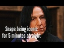 Snape being iconic for 5 minutes straight