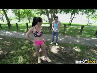 [bangbros] leila larocco big butt gym girl gets fucked newporn2019