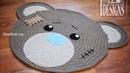 Top 10 crochet alfombras infantiles tejidas a mano con ganchillo y trapillo