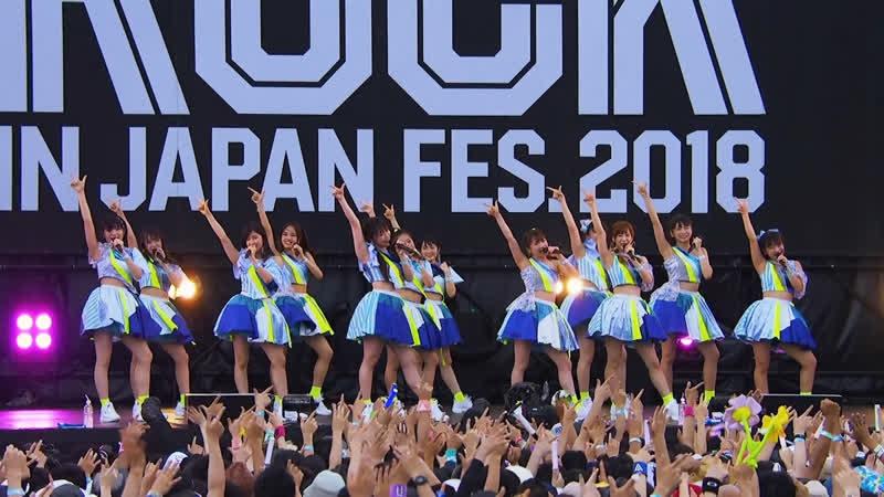 Utakata Saturday Night! - Morning Musume 18 (Rock in Japan Fes 2018)