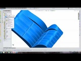 Toy Car Seating Bench - SolidWorks Tutorial (Time Lapse 8X Speed)