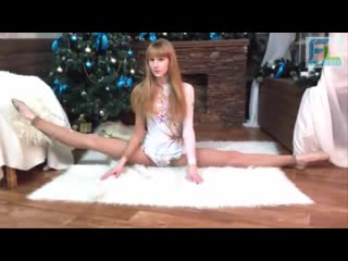 Flexible workout and stretching, yoga workouts, contortion flexibility splits st