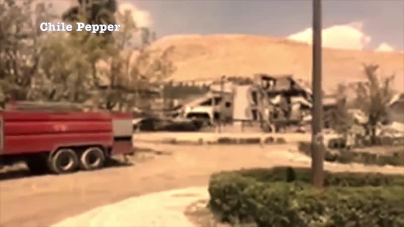 'Томагавк все таки достиг цели' Показаны последствия ударов США по Сирии mp4