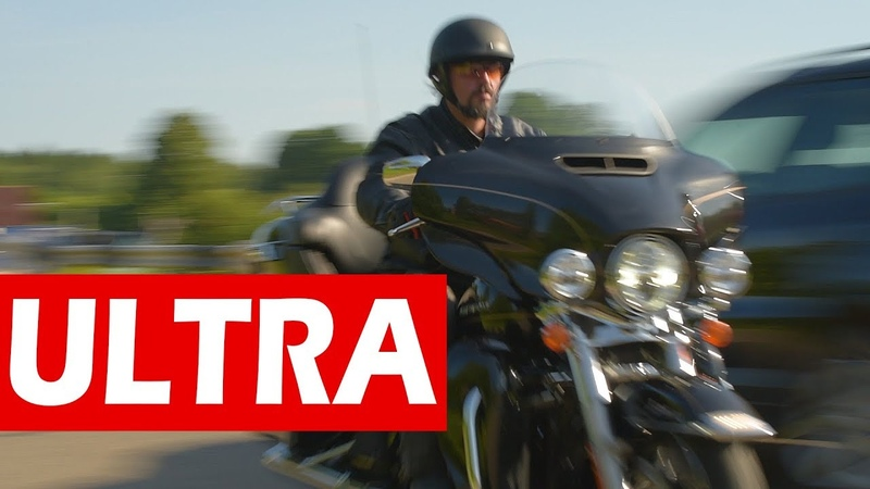 Не электричка Harley Davidson Ultra Limited МОТОЗОНА №31