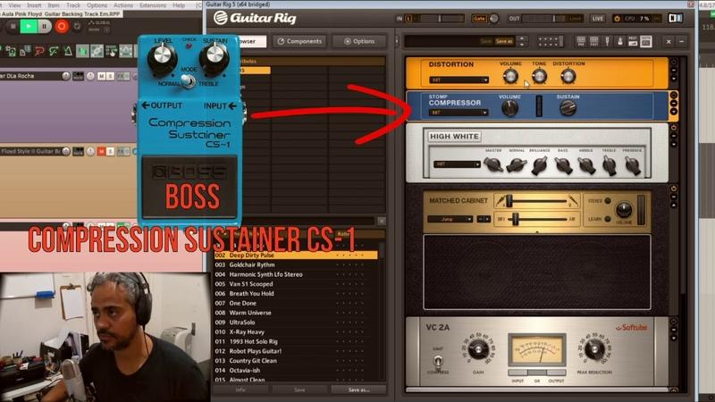 Guitar Rig 5 - Preset - Pink Floyd Style