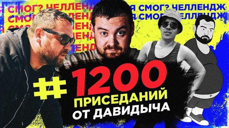 Давидыч 1200 приседаний ОН ЭТО СДЕЛАЛ