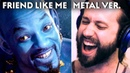"""Disney's Aladdin - """"FRIEND LIKE ME"""" (Metal Cover by Jonathan Young)"""