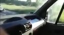 Shooting while driving