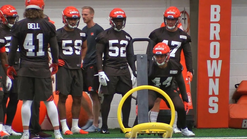 Browns' rookies get their feet wet in the NFL at minicamp