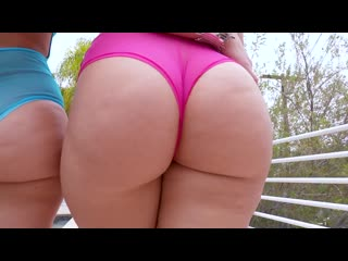 Alexis texas, anikka albrite - alexis texas and anikka albrite create an ass sandwich (2015) hd
