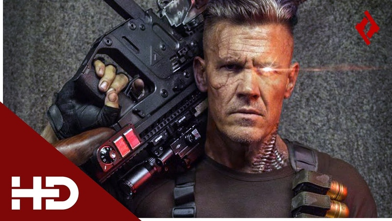 Deadpool 2 (2018) | All Cable Guns/Shooting Scenes | HD