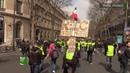 Paris : un nouvel acte des Gilets jaunes à haut risque