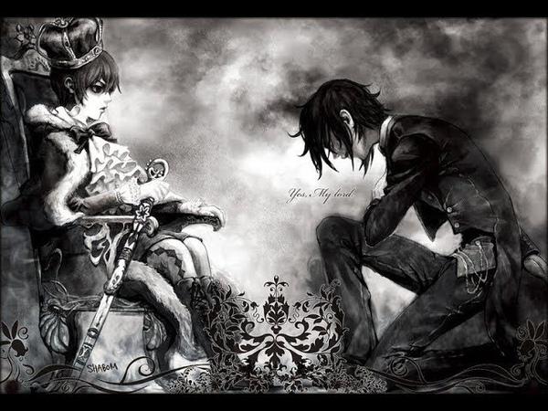 [ЯОЙ] Сиэль и Себастьян.AMV - Аниме клип - Я твой сторожевой.Темный дворецкий.