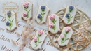 How to make SWEET PEA FLOWER COOKIES for Mother's Day