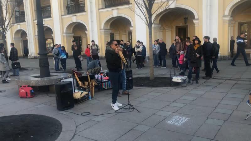 Музыканты у Гостинки
