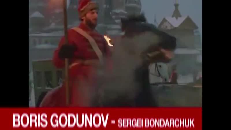 Chamada Boris Godunov Rede TVT HOJE OUTUBRO SOVIÉTICO