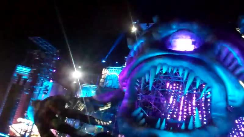 Steve Aoki Linkin Park - A Light that Never Comes (Coone Remix) LIVE EDC LV 2014