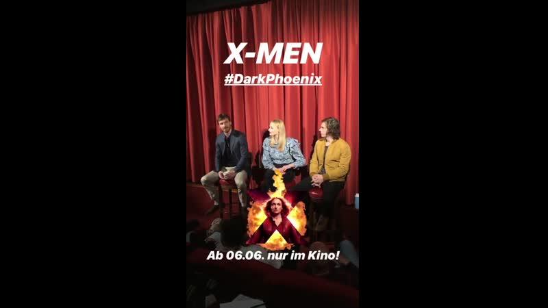 Пресс-конференция команды фильма «Люди Икс: Темный Феникс» в Берлине | 20 мая 2019