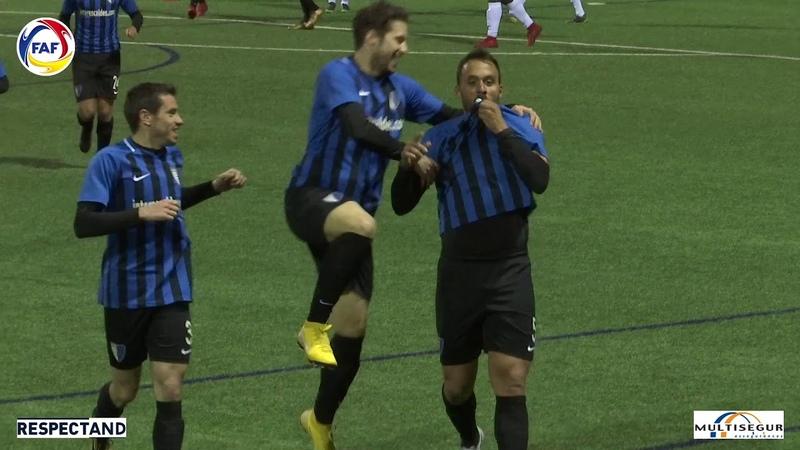 RESUM: Lliga Multisegur Assegurances, J19. Inter Club d'Escaldes - Futbol Club Lusitans (2-1)