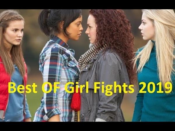 Polis Kavga Eden Kızları Ayırmak Yerine İzleyip Gitti HD 2019 Kız Kavgaları