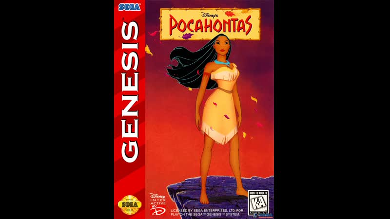 Pocahontas (РУССКАЯ ВЕРСИЯ) (SMD). Играет Gamer...ПРОЙДЕНО
