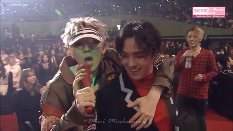 MR Removed Zico Bermuda Triangle Okey Dokey Yo @ 26th Seoul Music Awards 170119
