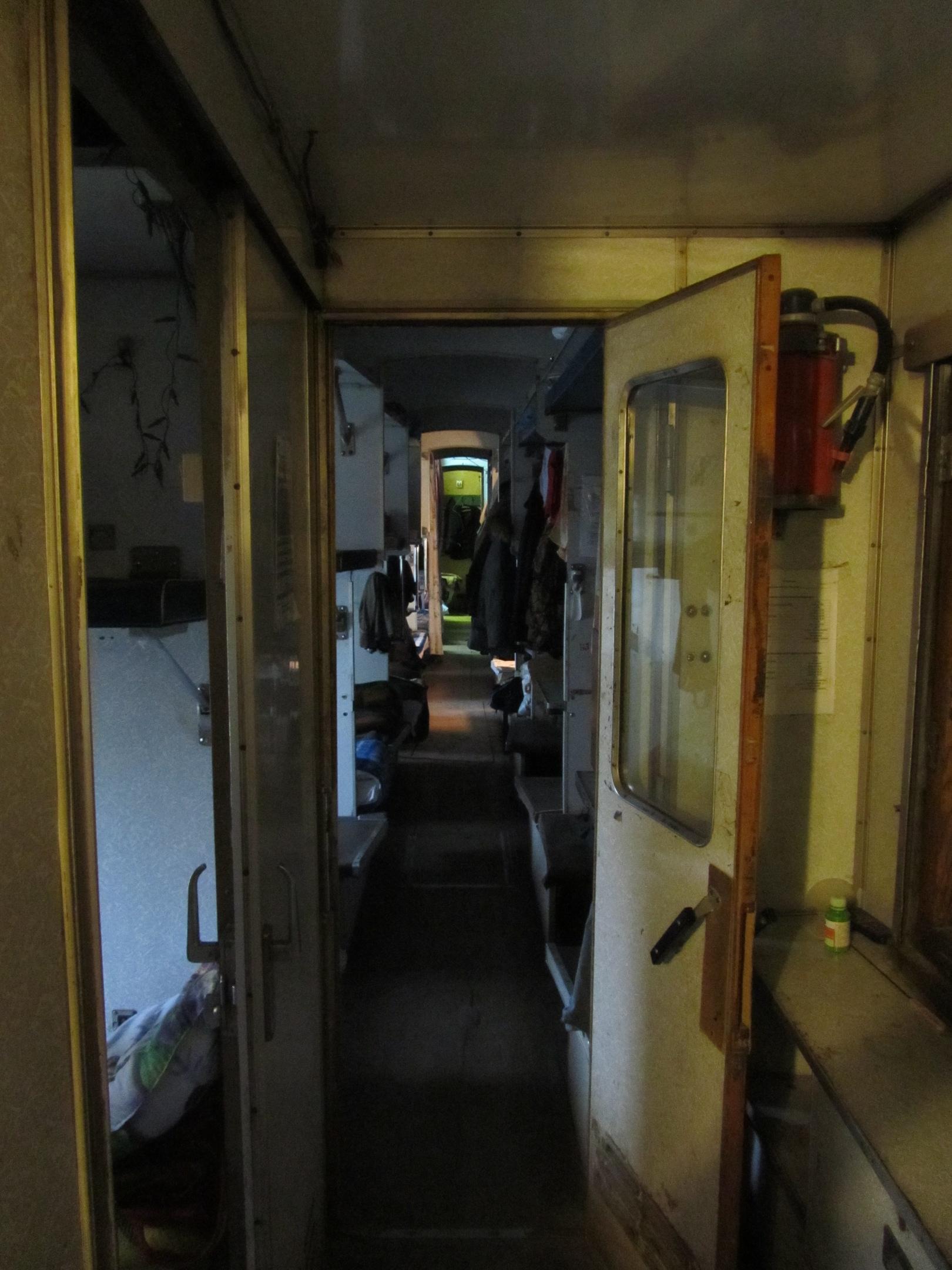 """вагон-общежитие для """"трудников"""" мужского монастыря"""