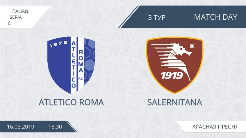 AFL19. Italy. Serie C. Day 3. Atletico Roma-Salernitana